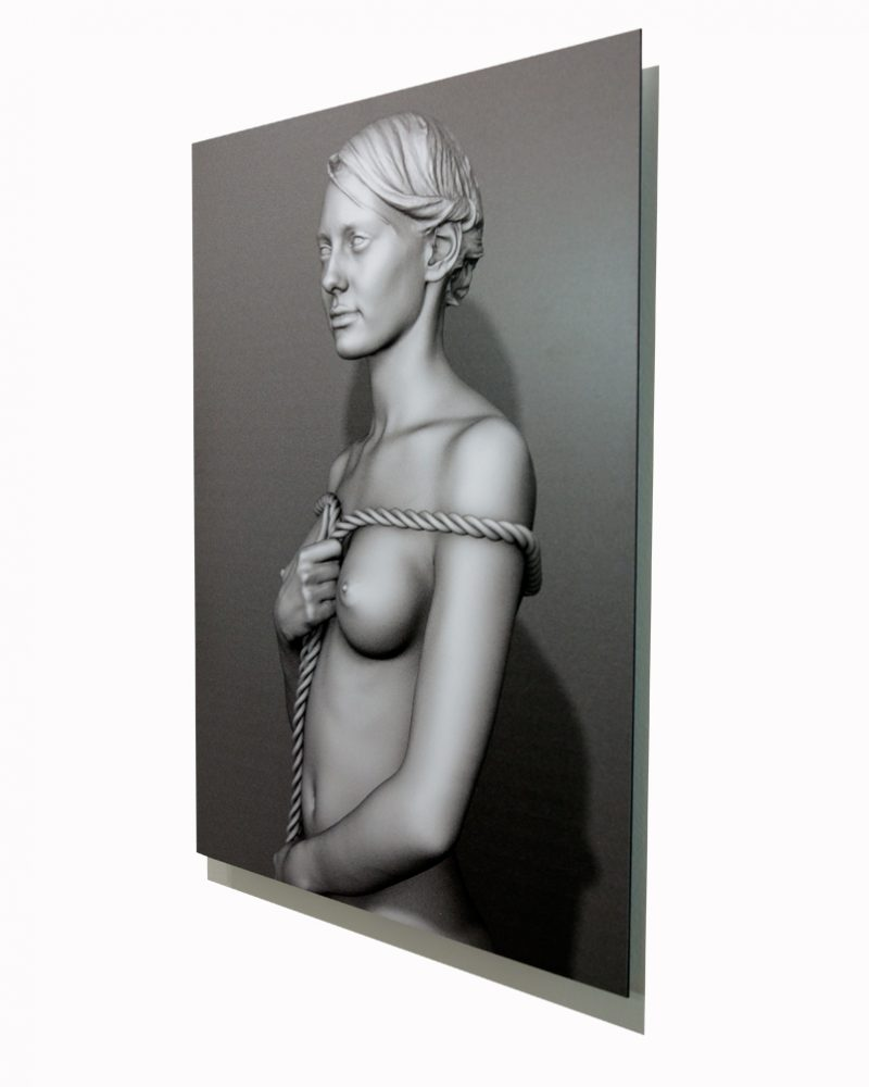 'Laura'-bust-SIDE-35-x-50-cm